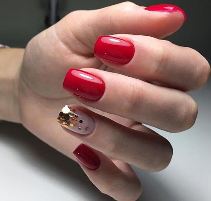 дизайн ногтей в технике аквариум