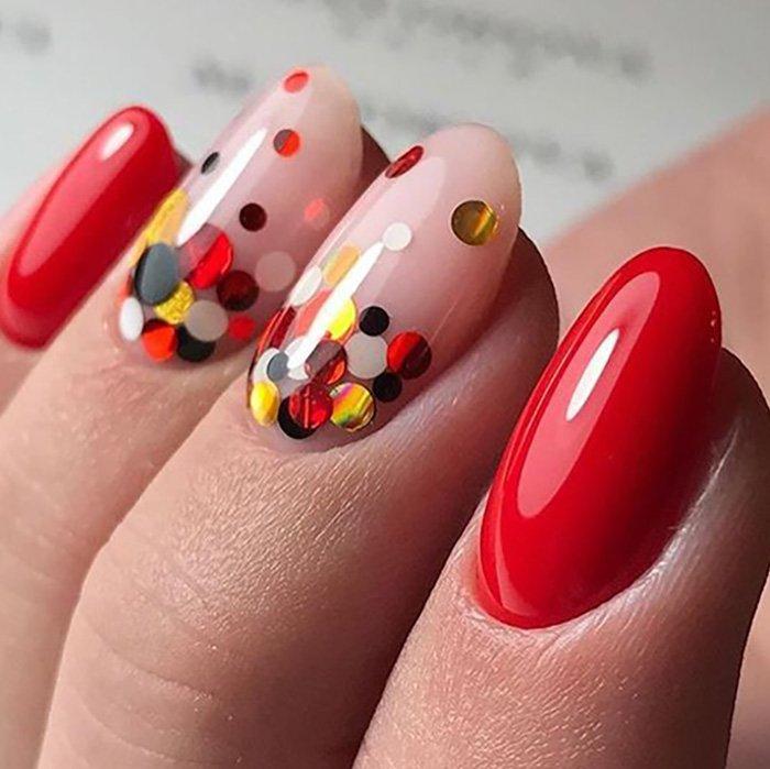 Шеллак Дизайн На Короткие Ногти