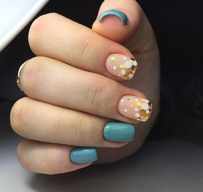 дизайн ногтей акрилом