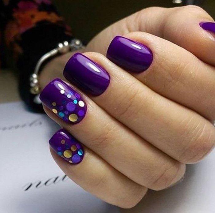 форма и дизайн ногтей