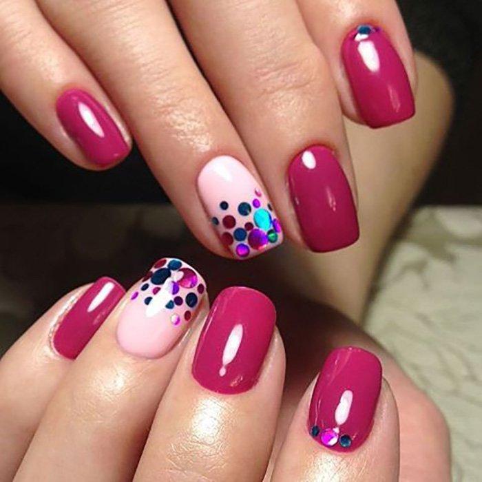 оформление и дизайн ногтей