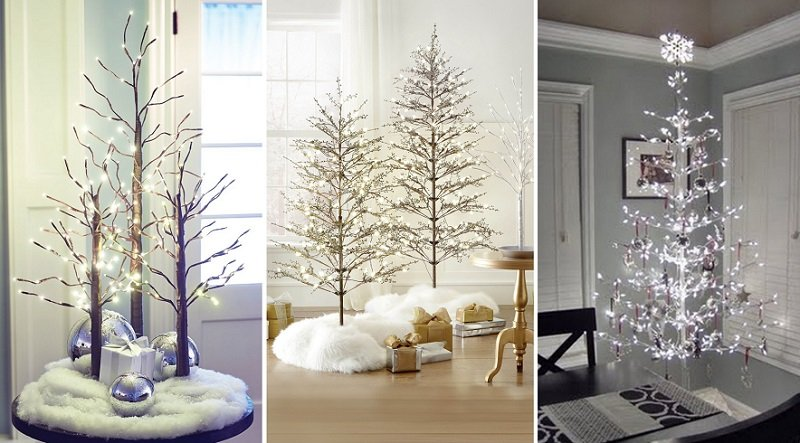 украшение деревьев на новый год