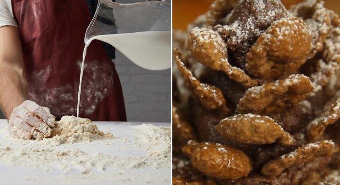Восхитительный рецепт печенья «Новогодние шишки». Поражают уже с первого кусочка!