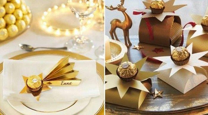 подарки из конфет и чая