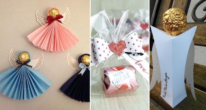 подарки из конфет и шоколада