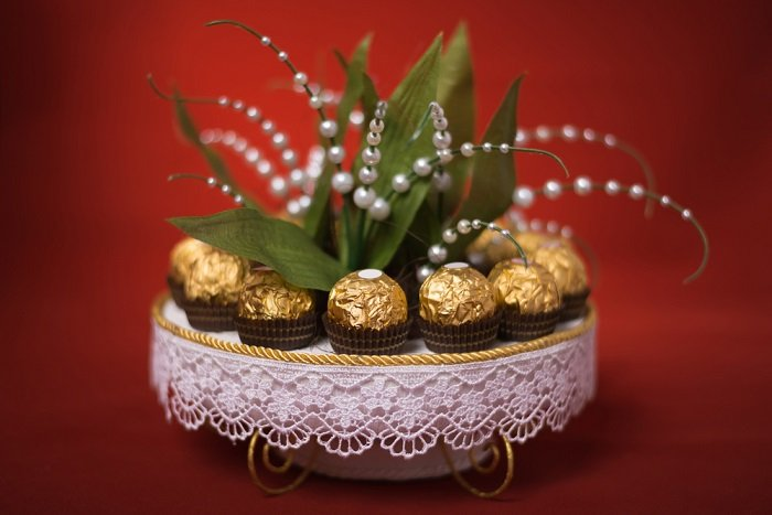 подарки из конфет на новый год