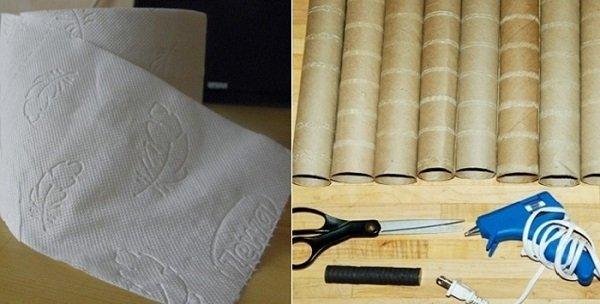 поделки из втулок туалетной бумаги