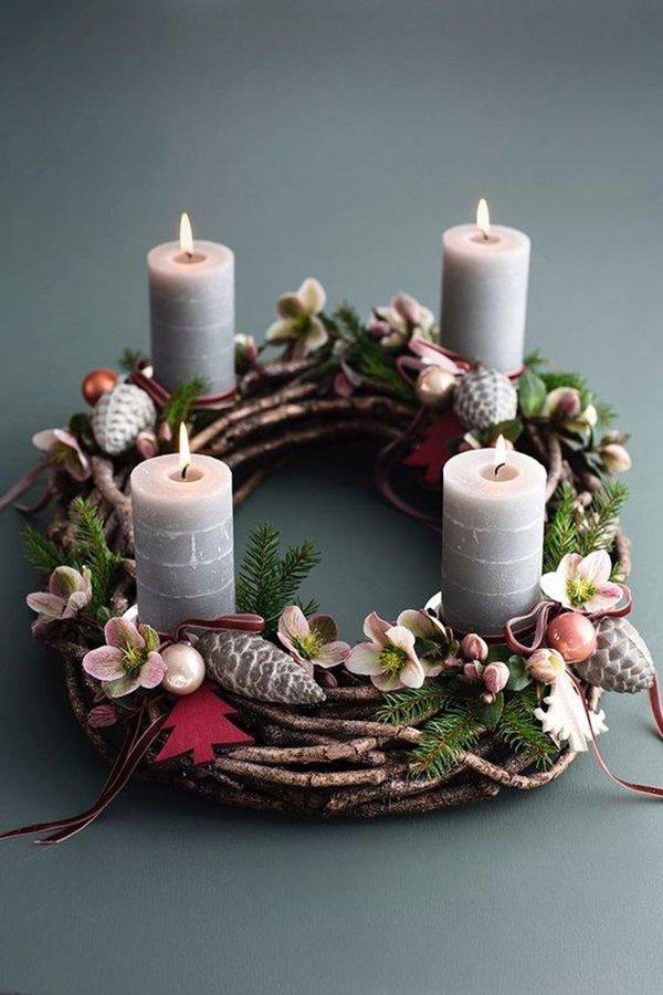 изготовление и декор свечей