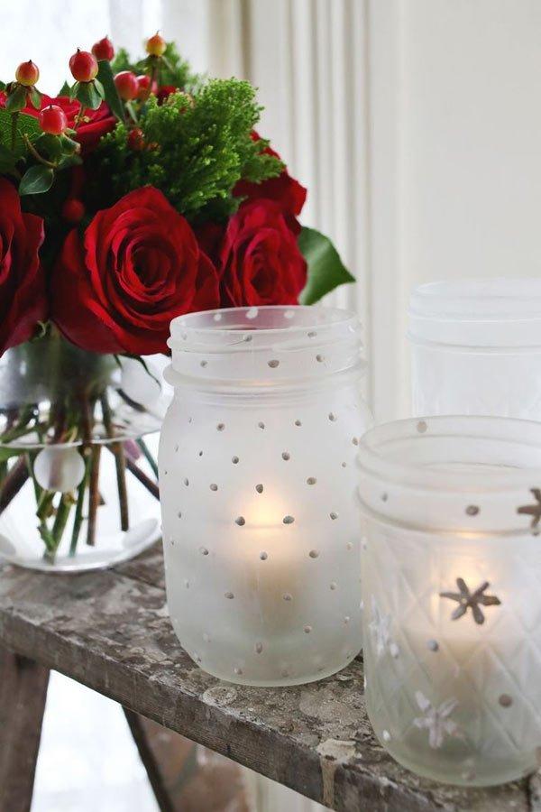 декор венчальных свечей