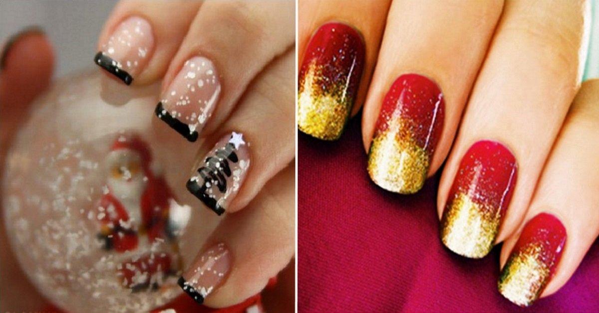 22 праздничные идеи для новогоднего дизайна ногтей. Беспроигрышные варианты!