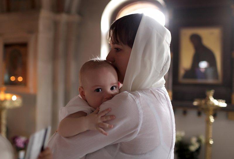 обряд крещения