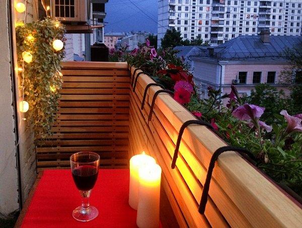 шикарный балкон фото