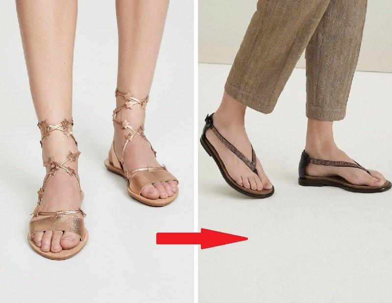 обувь для полных икр