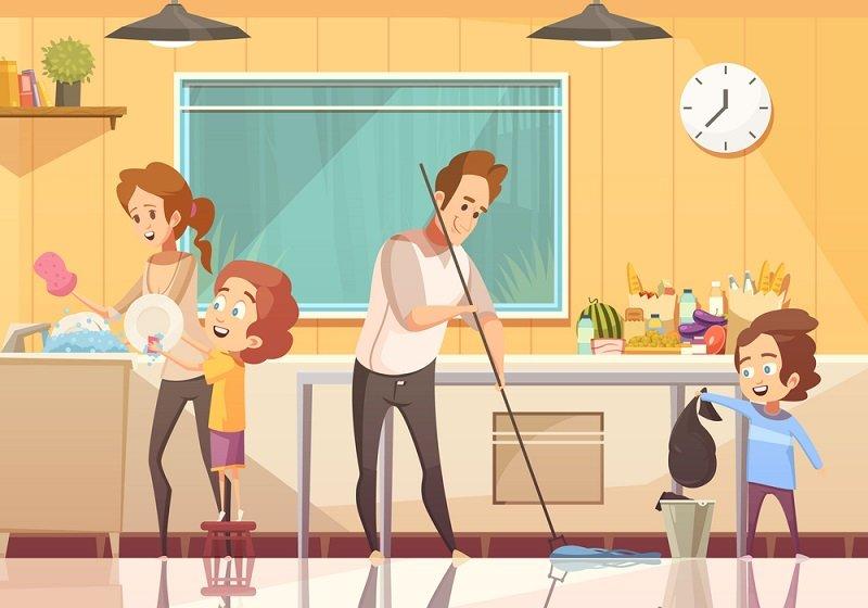 обязанности детей до 14 лет