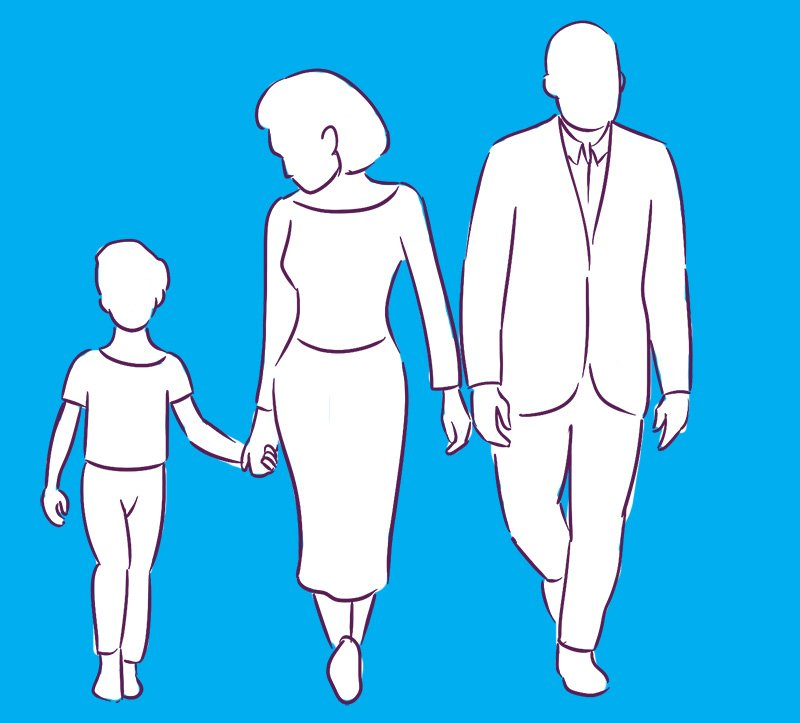 иметь крепкую семью