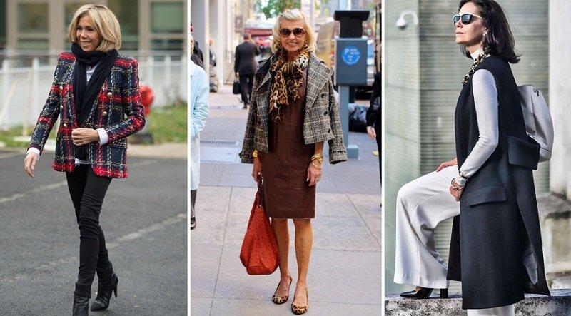 стиль одежды для женщин за 50