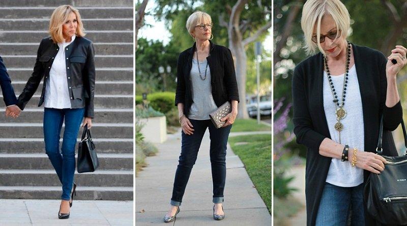 элегантная одежда для женщин за 50