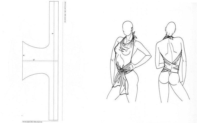 выкройка летней одежды