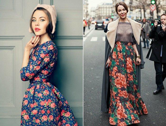 русский стиль в одежде