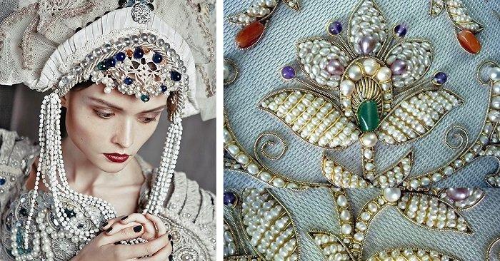 русский деревенский стиль в одежде