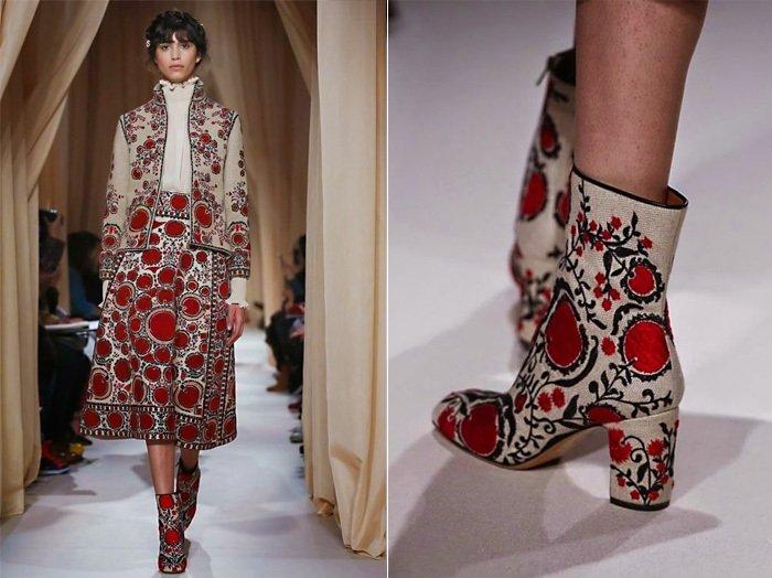 русский стиль в дизайне одежды
