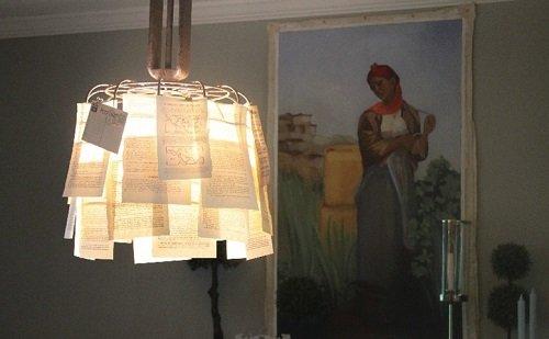 абажур для лампы