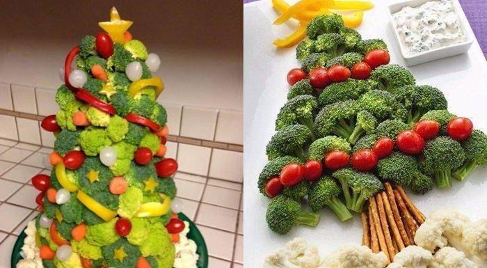 оформление нарезки из овощей