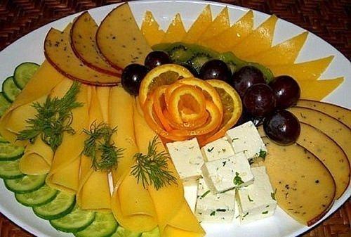 фруктово-сырная нарезка