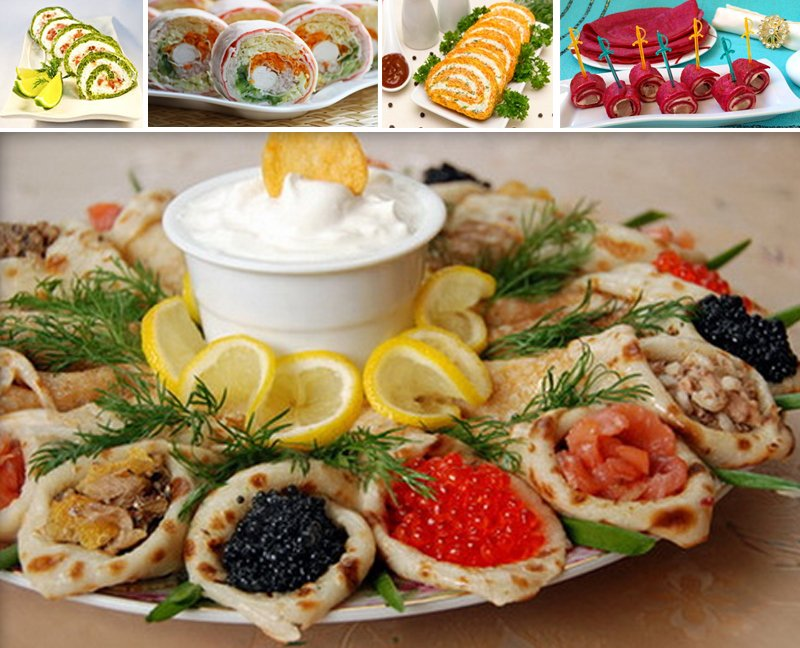 праздничные закуски