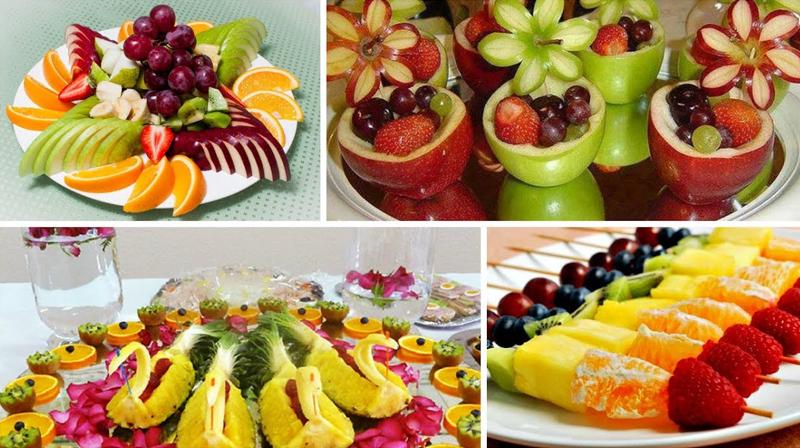 фруктовые закуски