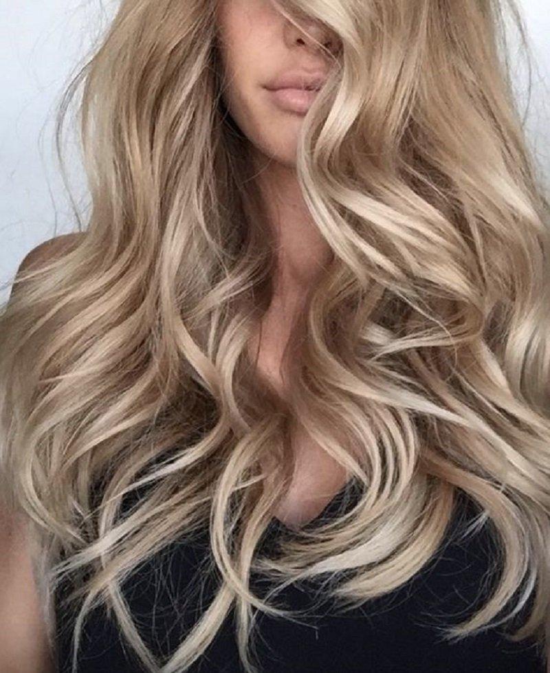 окрашивание волос виды