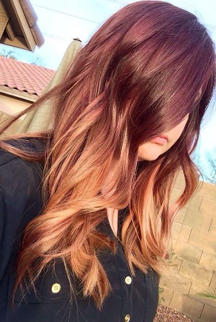 окрашивание волос бесцветной хной с кофе
