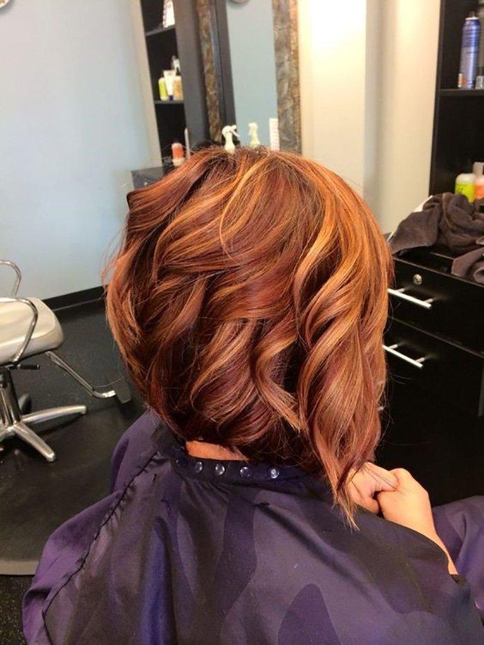 окрашивание волос с отросшими корнями