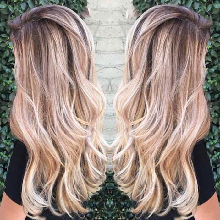 окрашивание волос для цветотипа лето