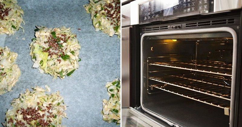 оладьи из капусты в духовке
