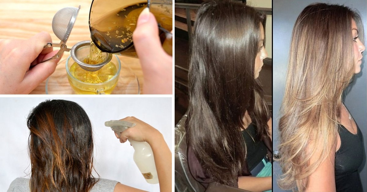 Осветляем темные волосы в домашних условиях 826