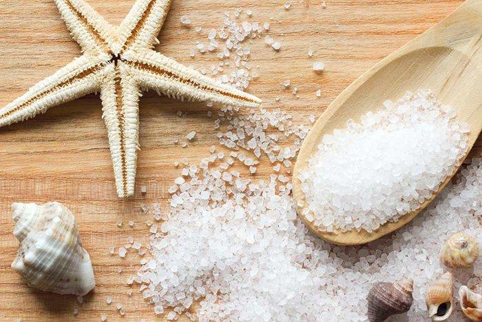 раствор с морской солью и содой