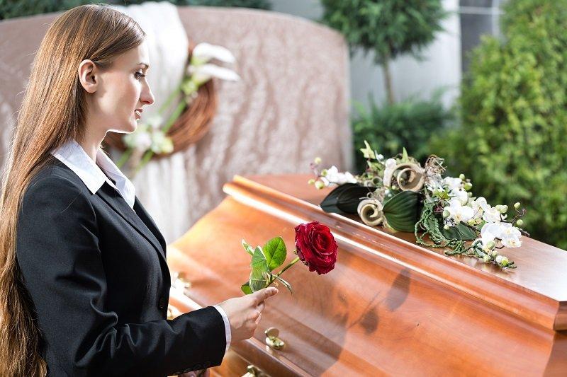 умер человек что делать