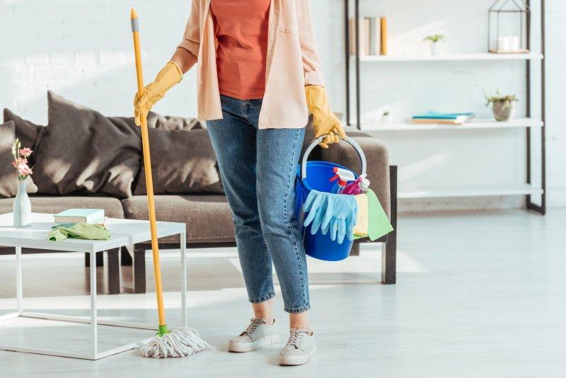 организация уборки квартиры
