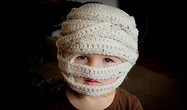 шапка мумии