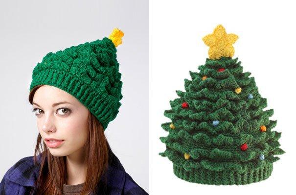 шапка-елка