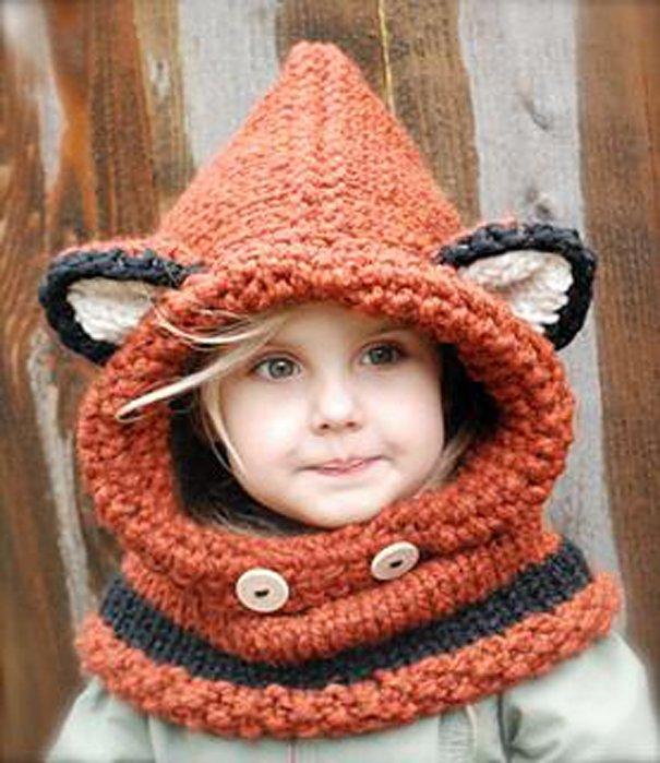 шапка лисички