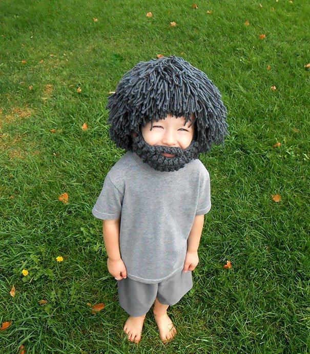 волосатая шапка