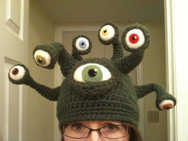 шапка инопланетянина