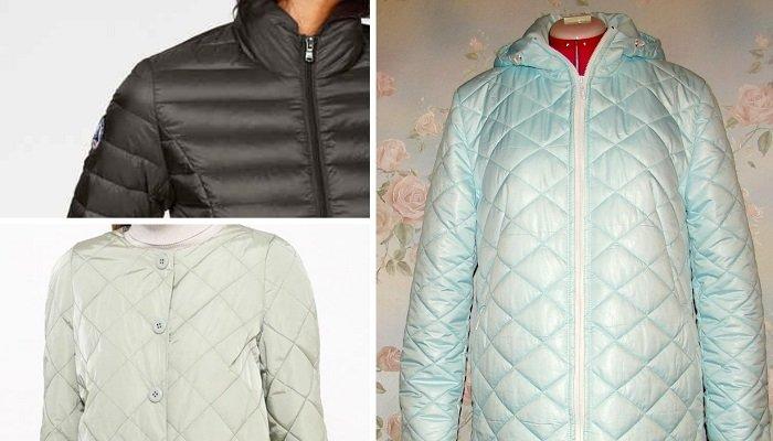стеганные куртки