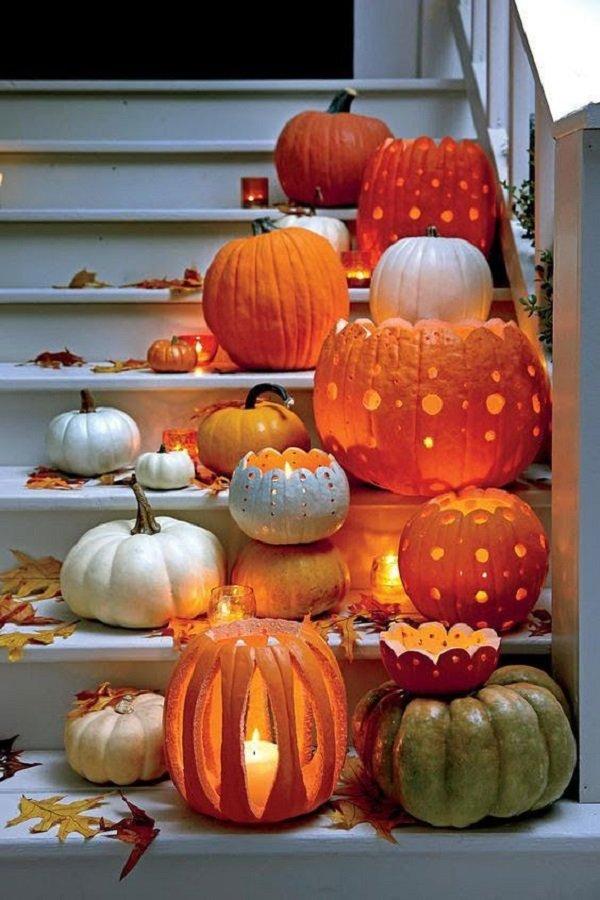 поделки из тыквы на хеллоуин
