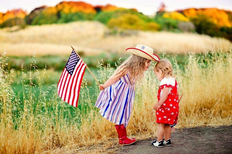 воспитание детей в америке