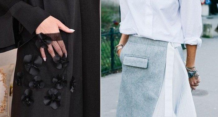 какие карманы бывают в одежде