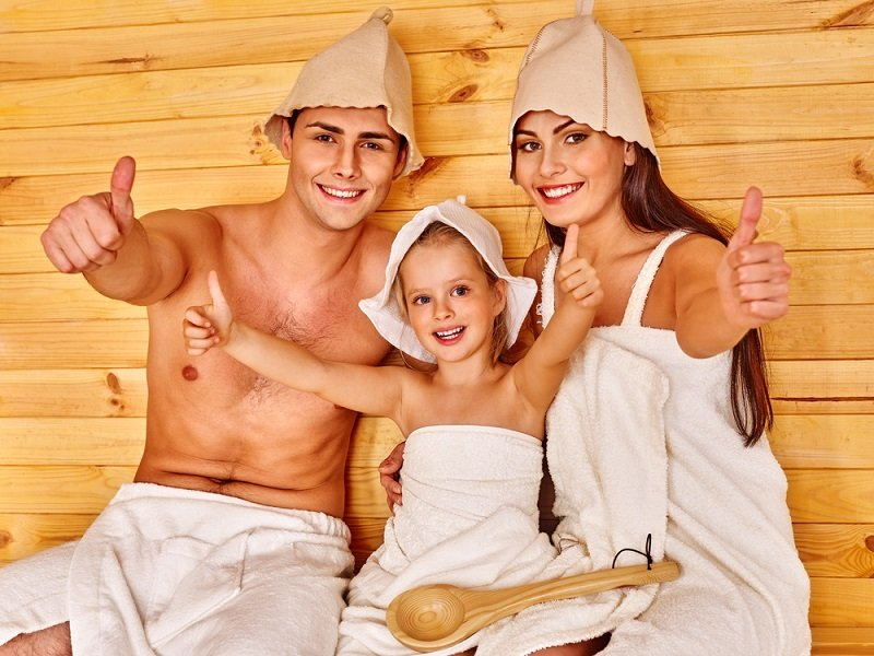 отдых в русской бане