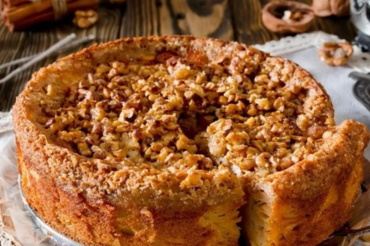 Рецептура мюнхенского яблочного пирога Кулинария,Кремы,Пироги,Шоколад,Яблоки